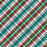 Diagonal tartan seamless texture in red different hues Stock Photo