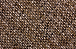Diagonal texture of a coarse fabric Royalty Free Stock Photo