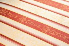 Diagonal vintage fabric Stock Photo