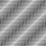 Diagonal waves. Seamless vector pattern. Raster halftone imitati Stock Images