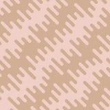 Diagonal Wavy Irregular Rounded Lines Seamless Pattern Royalty Free Stock Photos