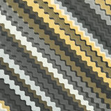 Diagonal wavy line pattern background. Royalty Free Stock Images