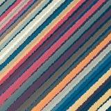 Diagonal wavy line pattern background. Stock Photography