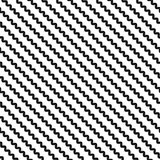 Diagonal wavy lines seamless pattern, zigzag texture, slanted waves. Stock Image