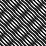 Diagonal wavy lines seamless pattern. Zigzag background Stock Photos
