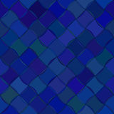 Diagonal wavy tile Seamless pattern Royalty Free Stock Photo