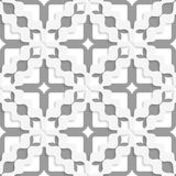 Diagonal white and gray wavy squares Royalty Free Stock Photos
