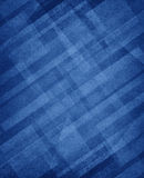 Diagonal white rectangles layers on primary blue background Stock Image