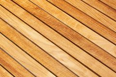 Diagonal wood Stock Photography