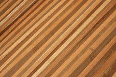Diagonal Wood bakgrund Royaltyfria Foton