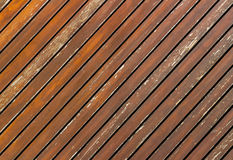 Diagonal wood board Royalty Free Stock Photos