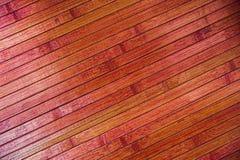 Diagonal wood parquet. Top view Royalty Free Stock Photo