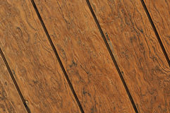 Diagonal Wood Plank Background Stock Photo