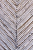 Diagonal wooden fence of planks Stock Photo