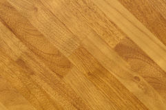 Diagonal wooden flooring planks Stock Images