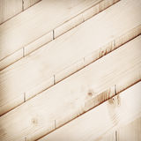 Diagonal wooden planks texture Royalty Free Stock Images