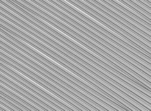Diagonala ändlösa linjer modell för grå ribbad bakgrund för design för textur för grundmetall industriell royaltyfri illustrationer