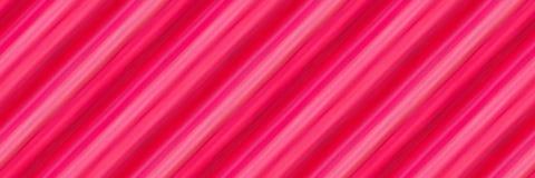 Diagonala band av blandad tjock målarfärg i skuggor av purpurfärgat och rött tileable Royaltyfri Bild