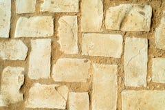 Diagonala kullerstenstenar Arkivbilder