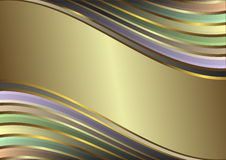 diagonala pastellfärgade band wavy stock illustrationer
