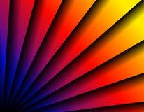 diagonala ventilatorlinjer för abstrakt bakgrund Royaltyfria Foton