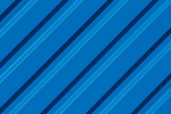 Diagonalbakgrund för blått band Arkivbild