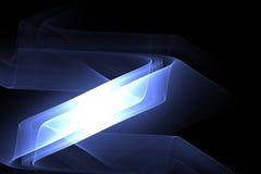 diagonale bleue de bar Photographie stock