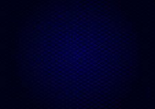 Diagonale blu di griglia del laser Fotografie Stock