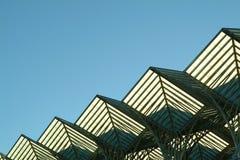 Diagonale della struttura in acciaio Fotografia Stock Libera da Diritti