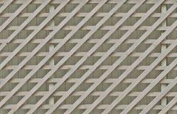 Diagonale gekreuzte hölzerne Planken Stockfotos