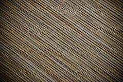 Diagonale gestreepte houten rol blinde textuur of achtergrond Royalty-vrije Stock Fotografie