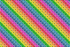 Diagonale Musterregenbogenfarben stockfotografie