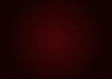 Diagonale rossa di griglia del laser Immagine Stock Libera da Diritti