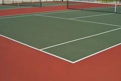Diagonale Tennisbanen Royalty-vrije Stock Foto's