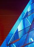 Diagonale Treppen stockfotos