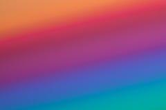 Diagonale veelkleurige gradiënt Stock Foto's