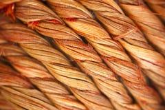 Diagonale verdraaide houten vezels Stock Foto