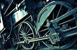 Diagonale zure trein Stock Foto's