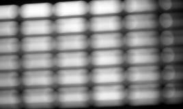 Diagonale zwart-witte net bokeh achtergrond Royalty-vrije Stock Afbeeldingen