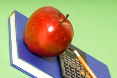 Diagonaler Apfel Lizenzfreies Stockbild