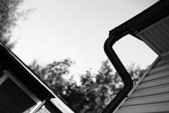 Diagonaler Schwarzweiss--achitecture Abstraktionshintergrund Stockfotos