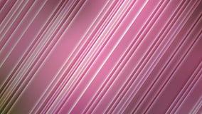 Diagonales brillantes abstractas en fondo rosado borroso fotos de archivo