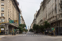 Diagonales Norte Buenos Aires Argentinien Lizenzfreie Stockfotos
