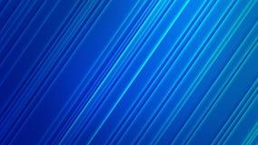 Diagonali brillanti astratte nel fondo blu graduato illustrazione vettoriale