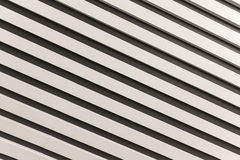 Diagonally downward with black and white stripes Royalty Free Stock Photo
