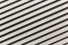Diagonally upward with black and white stripes Royalty Free Stock Photography