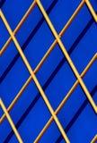 Diagonalna drewniana kratownica Zdjęcie Stock