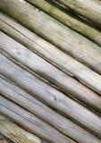 Diagonalnej drewnianej tekstury makro- strzał Zdjęcia Royalty Free