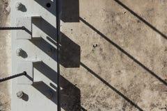 Diagonalni cienie Zdjęcia Royalty Free