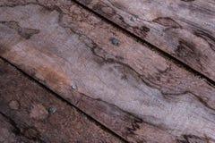 Diagonalni drewniani floorboards z adra piasek Zdjęcia Stock